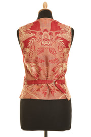 Shibumi Waistcoat in Imperial Red