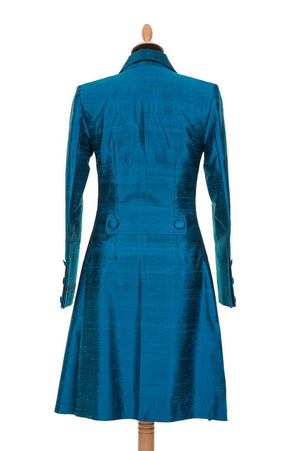 Grace Coat in Kingfisher Blue