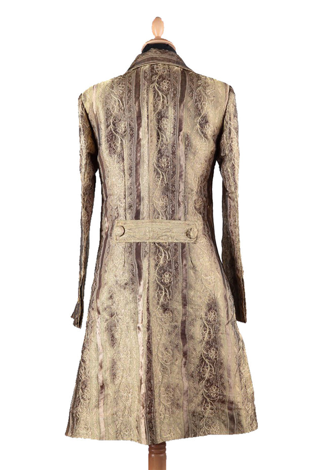 Grace Coat in Antique Gold