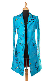 Grace Coat in Brilliant Turquoise