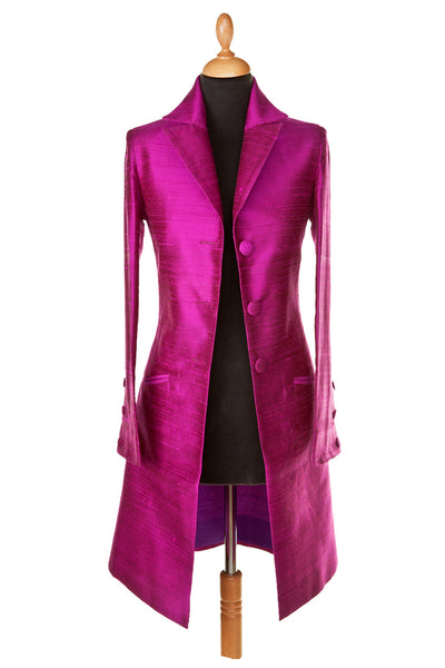 Grace Coat in Wild Orchid