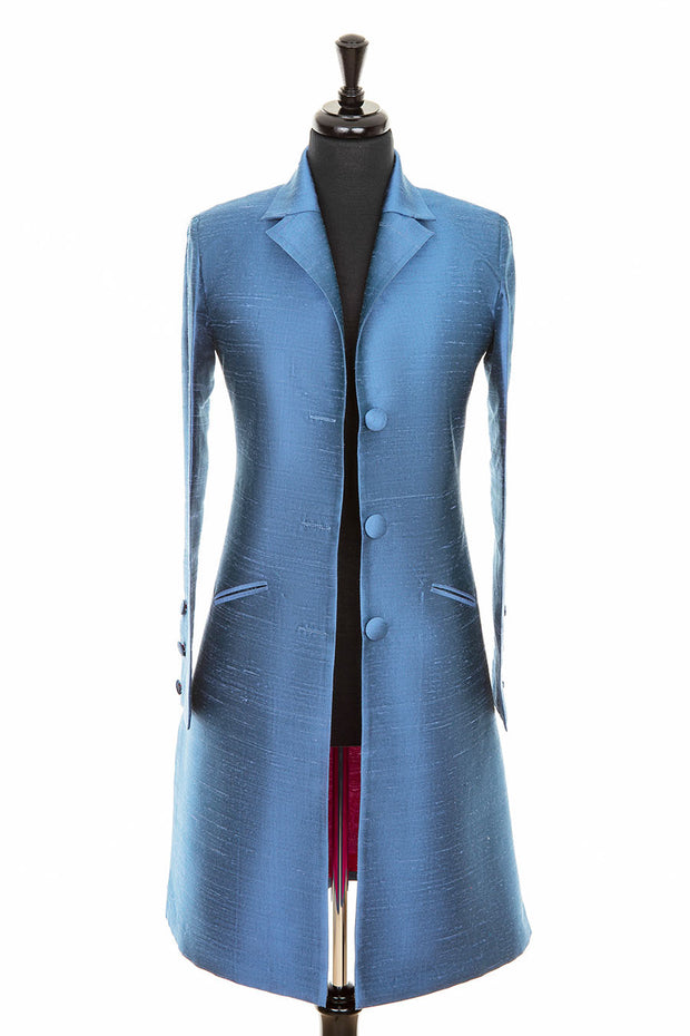 Grace Coat in French Blue