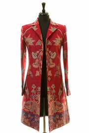 Grace Coat in Venetian Red