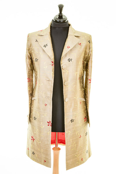 Grace Coat in Jaipur Gold