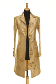 Grace Coat in Honey Gold