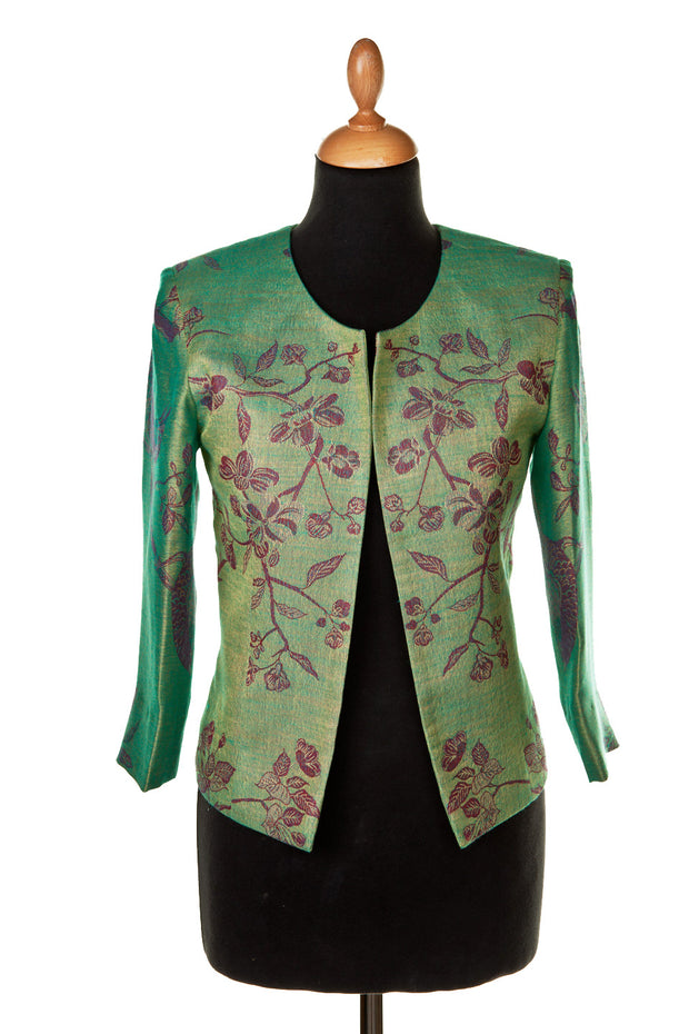 Juna Jacket in Dragonfly Green