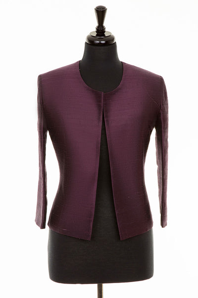 Juna Jacket in Aubergine