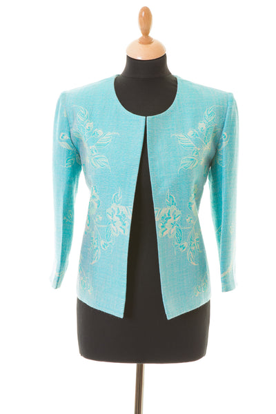 Juna Jacket in Pale Cyan