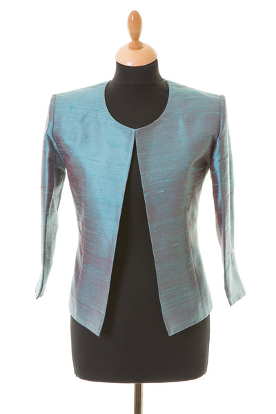 Juna Jacket in Smokey Blue