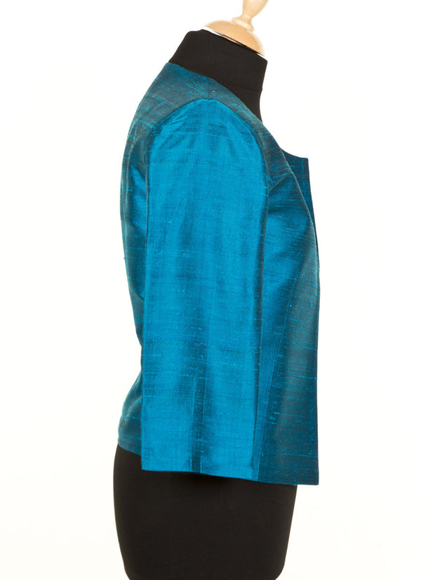 Juna Jacket in Kingfisher Blue