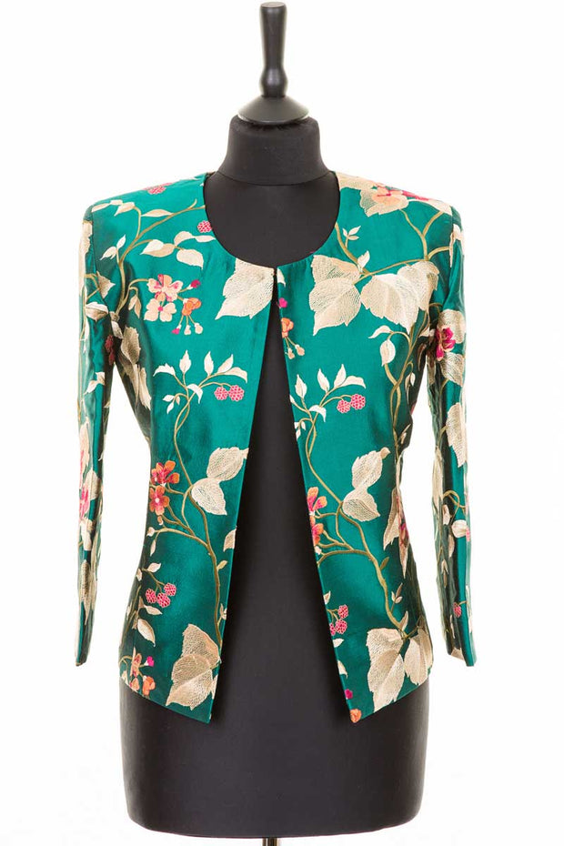 Juna Jacket in Magnificent Teal