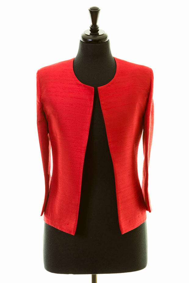 Juna Jacket in Scarlet