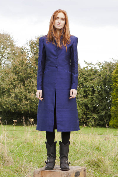 Stage Coat in Midnight Blue