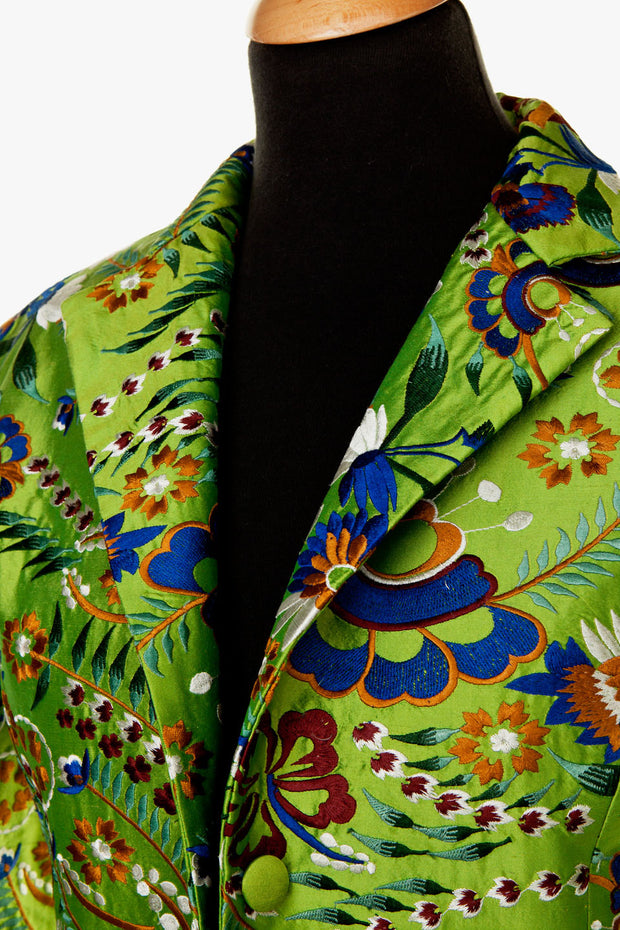 Lotus Jacket in Kaleidoscope Lime - Limited Edition