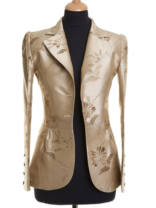 Lotus Jacket in Honey Gold