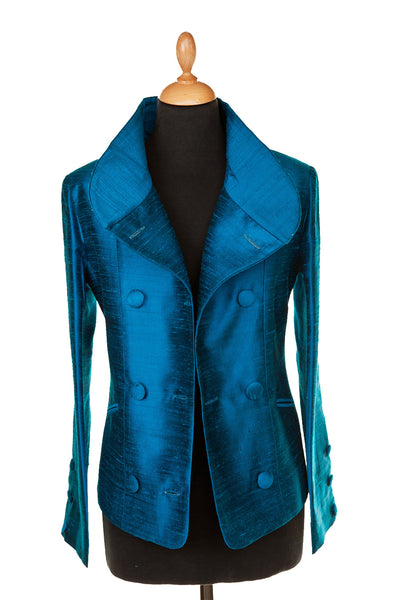 Delphine Jacket in Kingfisher Blue