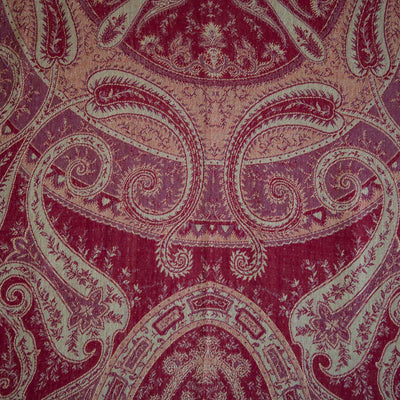 red paisley etro cashmere fabric