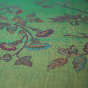 Fabric for Scoop Neck Waistcoat in Dragonfly Green