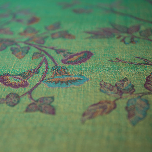 Bedspread/ Throw in Dragonfly Green