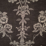 Fabric for Bateau Neck Kaftan in Ebony
