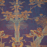 Fabric for V Neck Kaftan in Imperial Blue