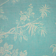 Fabric for V Neck Kaftan in Pale Cyan