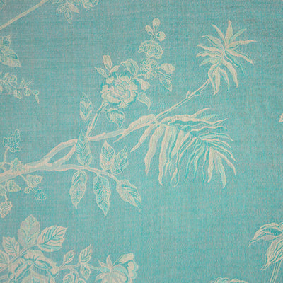 Bedspread/Throw in Pale Cyan