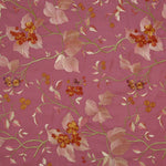Fabric for Scoop Neck Waistcoat in Pink Shalimar