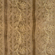 gold embroidered silk fabric