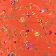 Fabric for Hepburn Dress in Atomic Coral