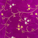 Fabric for Devi Coat in Hot Magenta