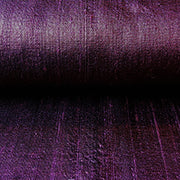 aubergine purple raw silk fabric