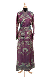 Dress Style Kimono in Deep Purple