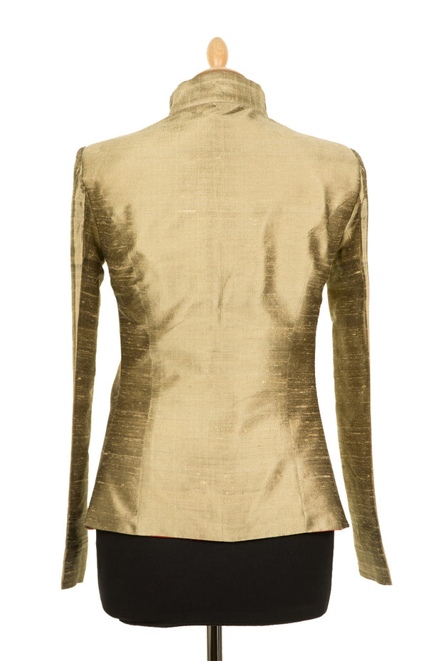 Anya Jacket in Oyster Gold
