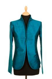 Anya Jacket in Kingfisher Blue