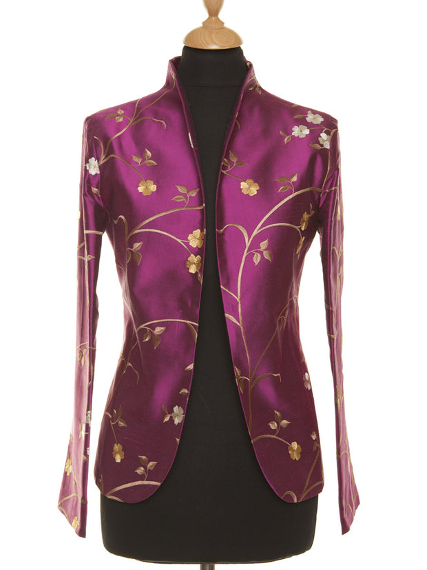 Anya Jacket in Hot Magenta