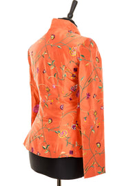 silk jacket for the races, mother of the groom outfit