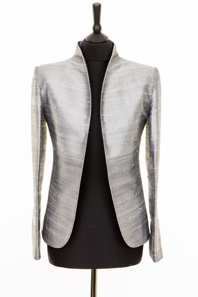 Anya Jacket in Silver