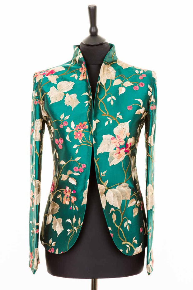 Anya Jacket in Magnificent Teal