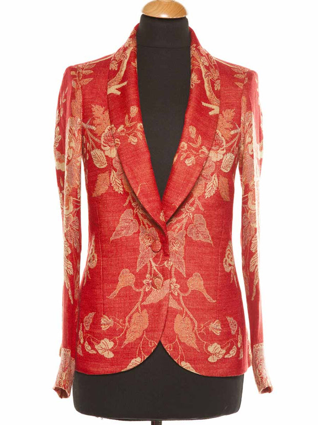 Frida Jacket in Imperial Red