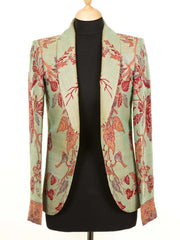 Frida Jacket in Verdigris