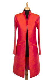 Nehru Coat in Flame