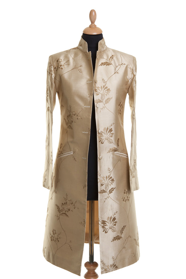 Nehru Coat in Honey Gold