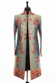 Nehru Coat in Opaline