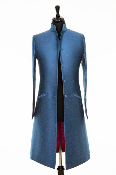 Nehru Coat in French Blue
