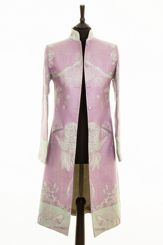 Nehru Coat in Lilac