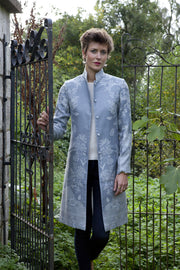 Nehru Coat in Wedgewood