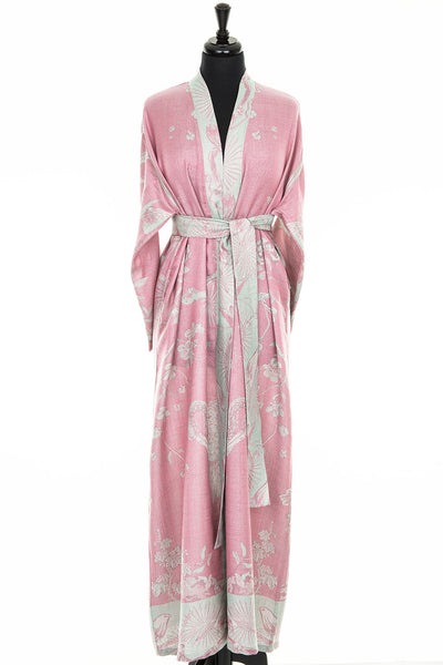 Reversible Dressing Gown in Rococo Pink