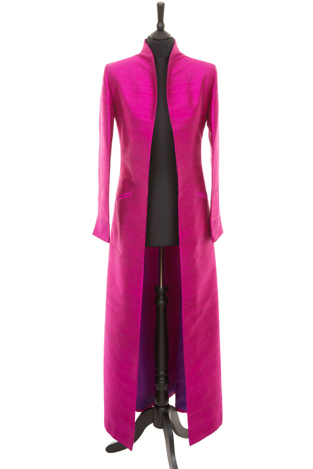 Devi Coat in Wild Orchid