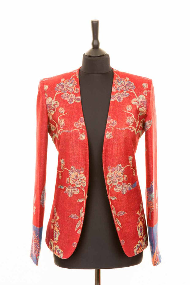 Bella Jacket in Venetian Red